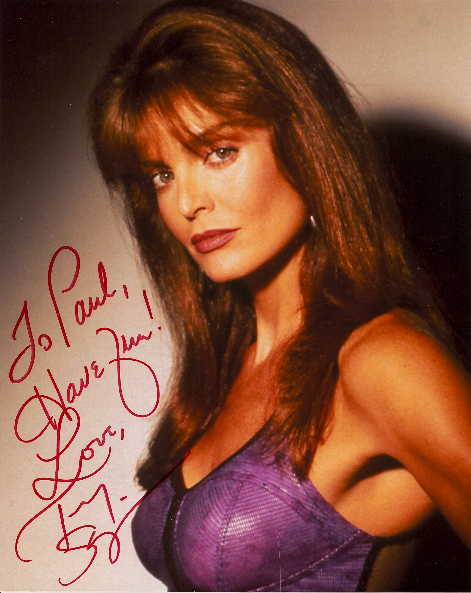 tracy scoggins tracy scoggins played catherine cat grant who ran the    Tracy Scoggins Superman